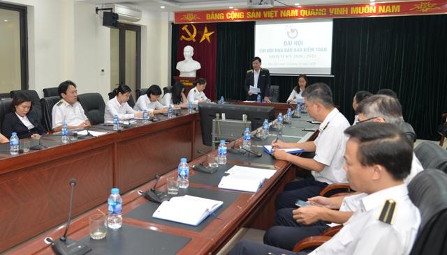 Chi hội nhà báo Báo Kiểm toán tổ chức Đại hội nhiệm kỳ 2020-2023