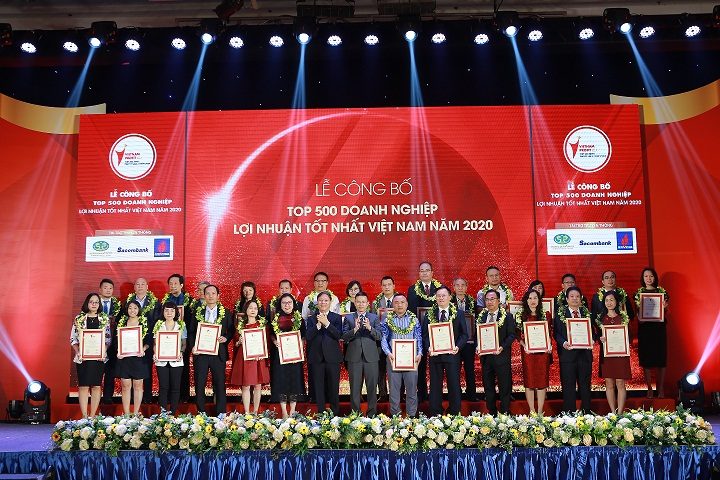 Tôn vinh 500 doanh nghiệp lợi nhuận tốt nhất Việt Nam năm 2020
