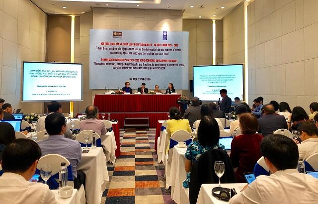 Hội thảo tham vấn về Chiến lược phát triển Kinh tế - Xã hội 10 năm 2021-2030