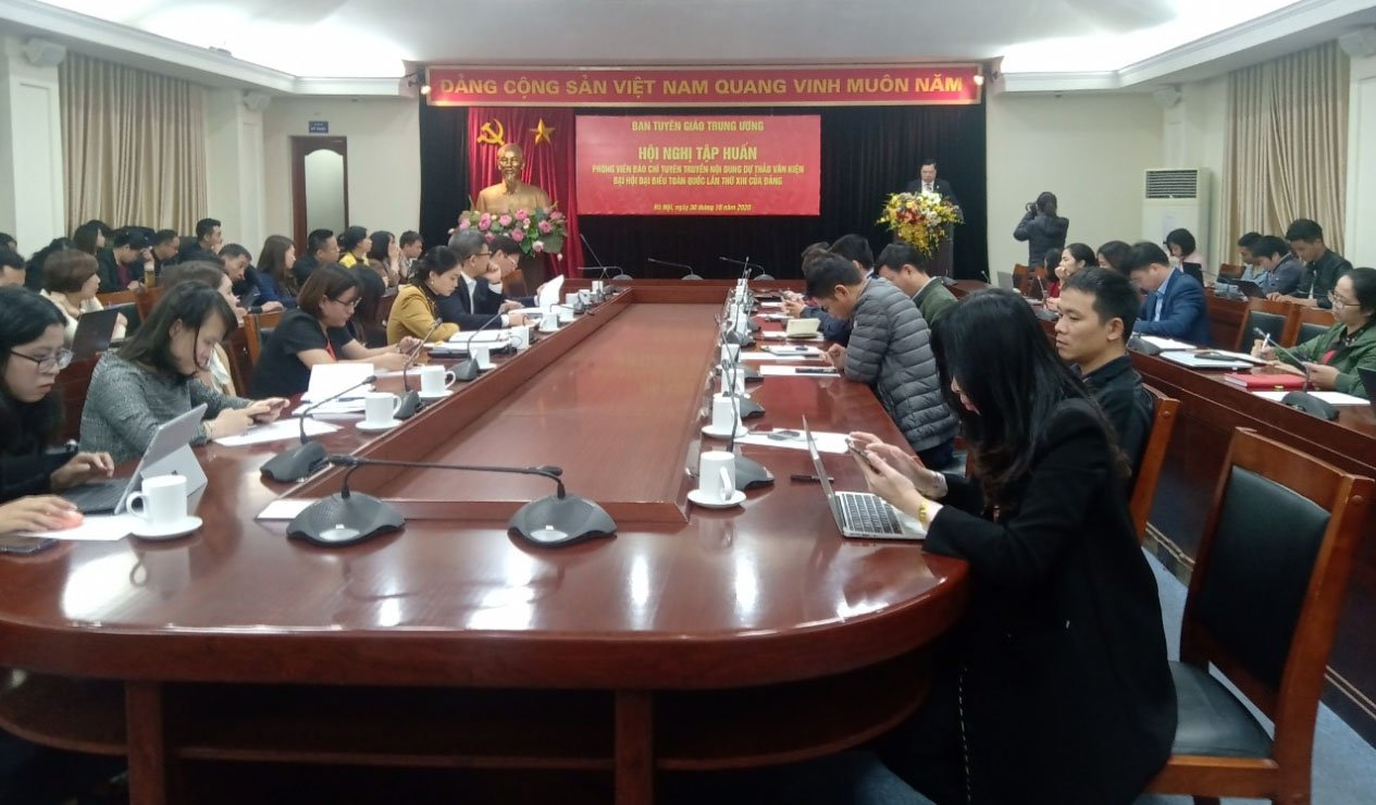 Báo chí cần thực hiện tốt nhiệm vụ tuyên truyền về Đại hội XIII của Đảng