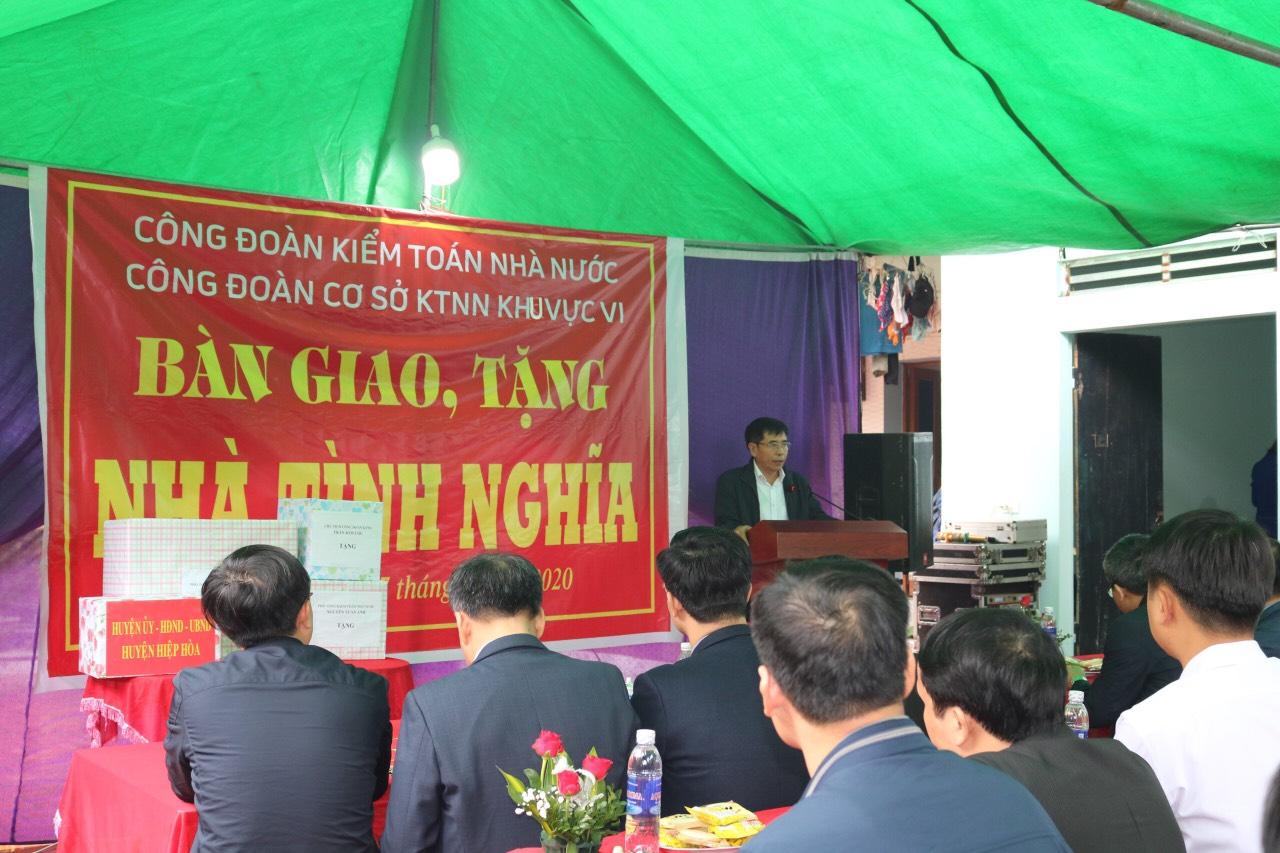 Kiểm toán Nhà nước khu vực VI trao tặng nhà tình nghĩa cho người có công tại tỉnh Bắc Giang