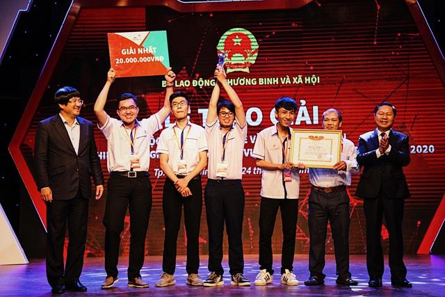 Trường Cao đẳng Lý Tự Trọng giành giải Nhất cuộc thi Startup Kite
