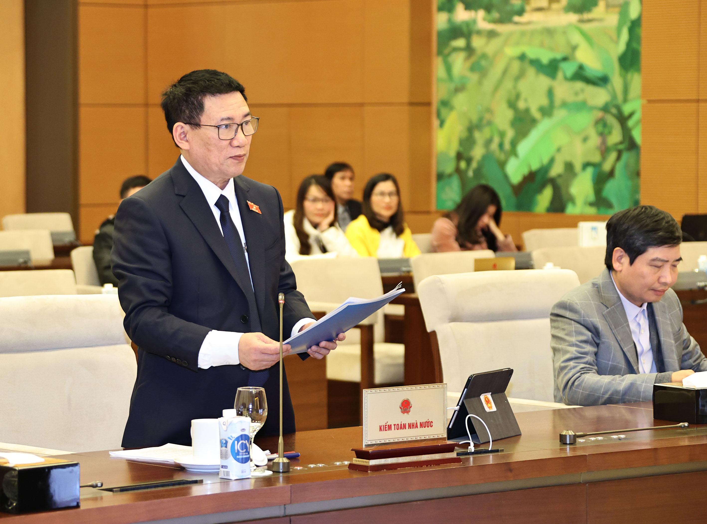 Ủy ban Thường vụ Quốc hội cho ý kiến về kết quả công tác của Kiểm toán Nhà nước nhiệm kỳ Quốc hội khóa XIV