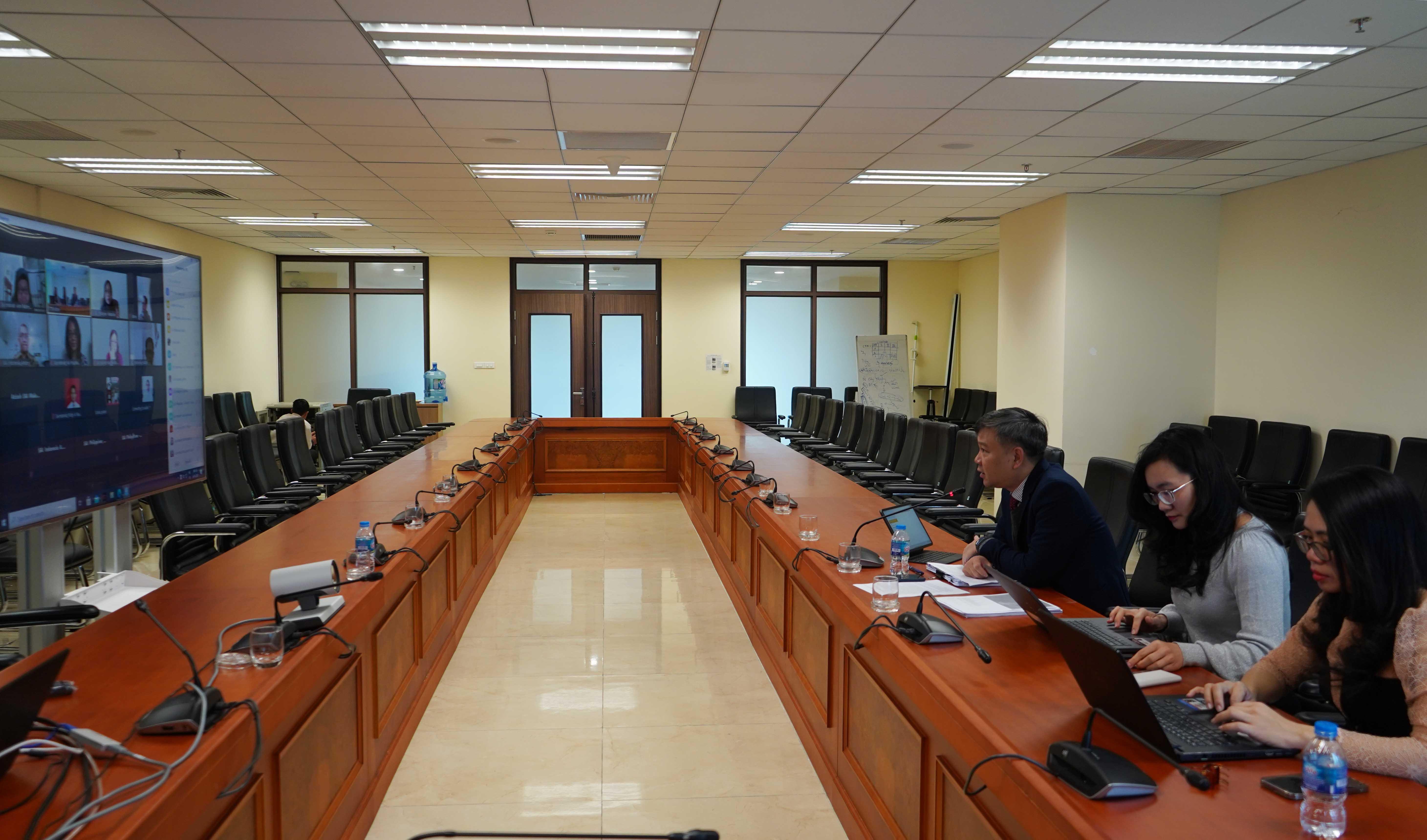 Cuộc họp thường niên về giám sát, đánh giá việc thực hiện Kế hoạch chiến lược ASEANSAI