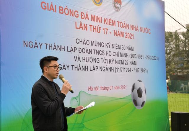 Khai mạc Giải bóng đá mini Kiểm toán Nhà nước lần thứ 17