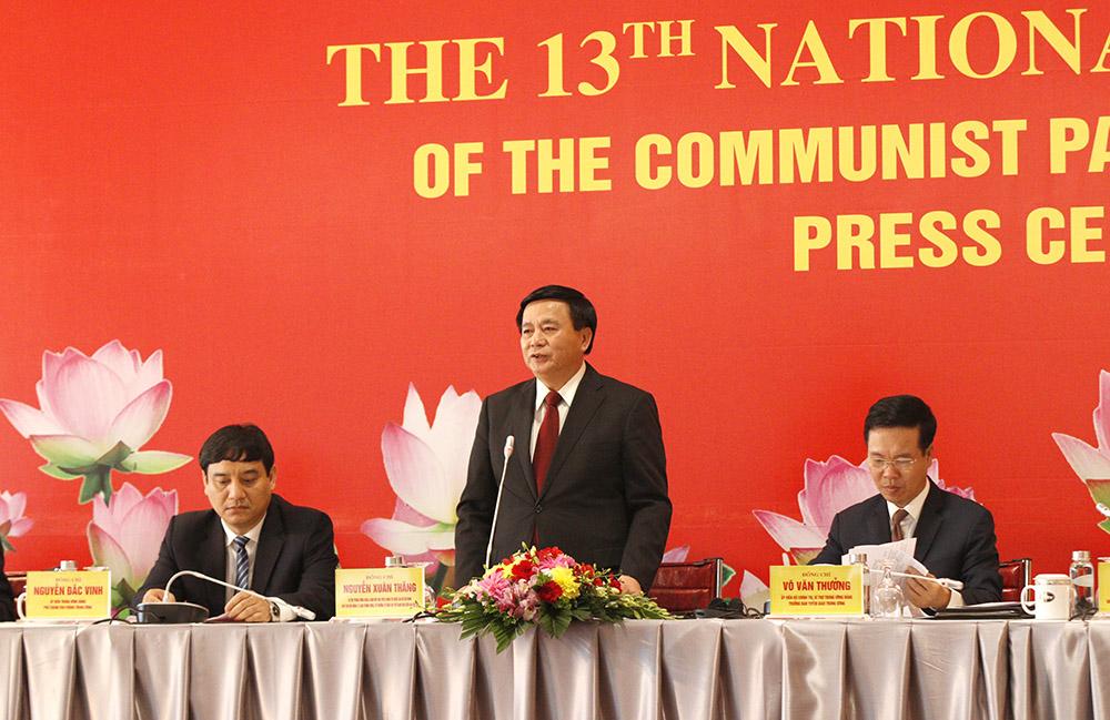 Văn kiện Đại hội XIII của Đảng: Tiếp tục khẳng định vai trò lãnh đạo của Đảng