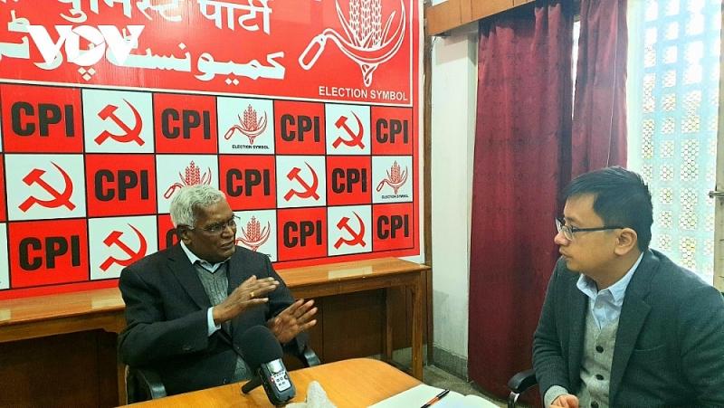Tổng Bí thư Đảng Cộng sản Ấn Độ: Thành tựu của Việt Nam là bài học thành công đáng ngưỡng mộ