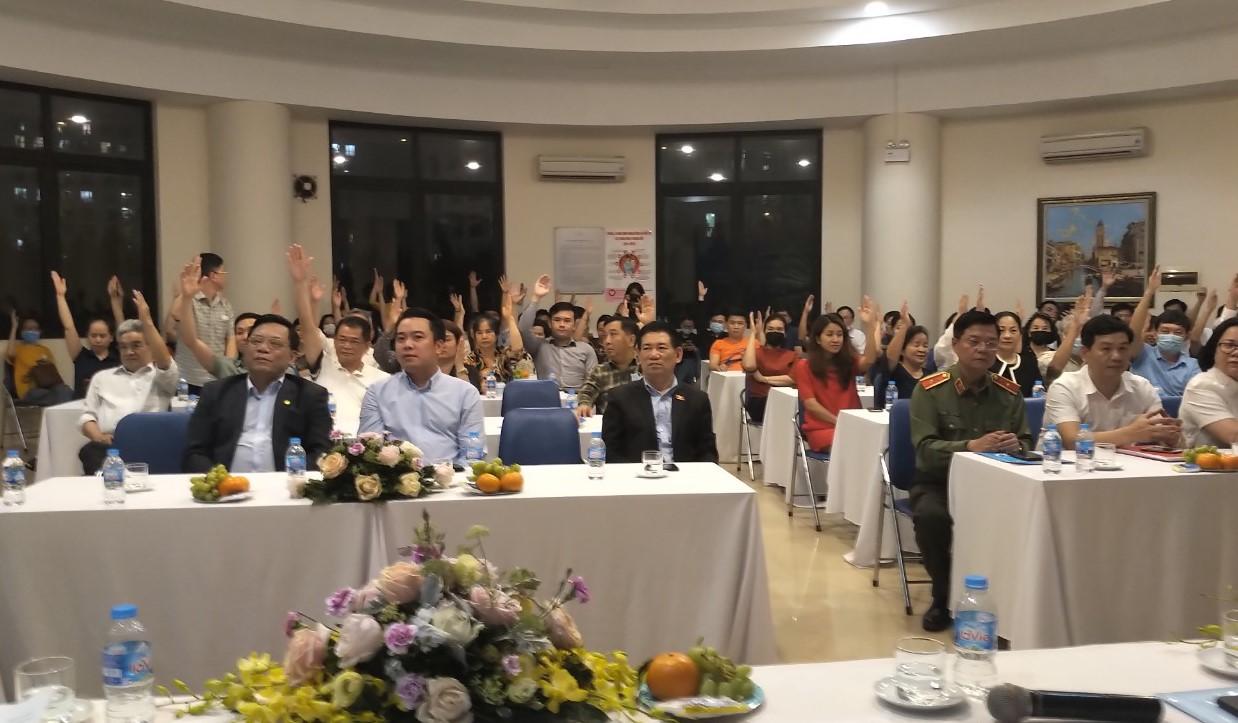 Cử tri nơi cư trú đồng ý giới thiệu Tổng Kiểm toán Nhà nước Hồ Đức Phớc ứng cử đại biểu Quốc hội Khóa XV