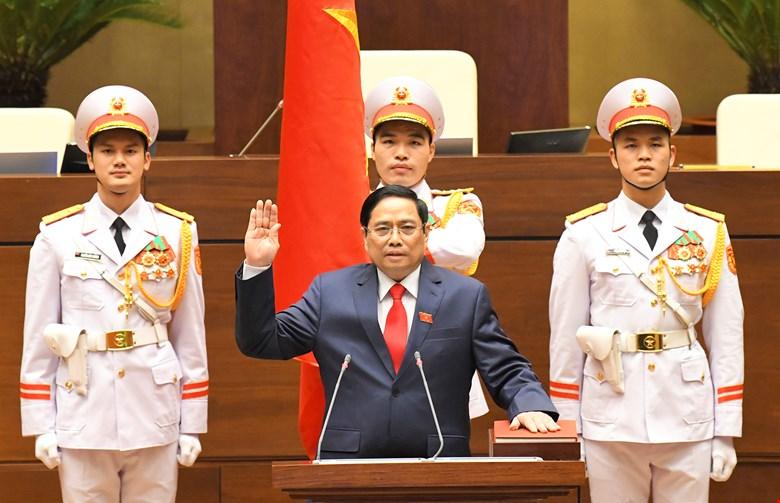 Thủ tướng Phạm Minh Chính tuyên thệ nhậm chức