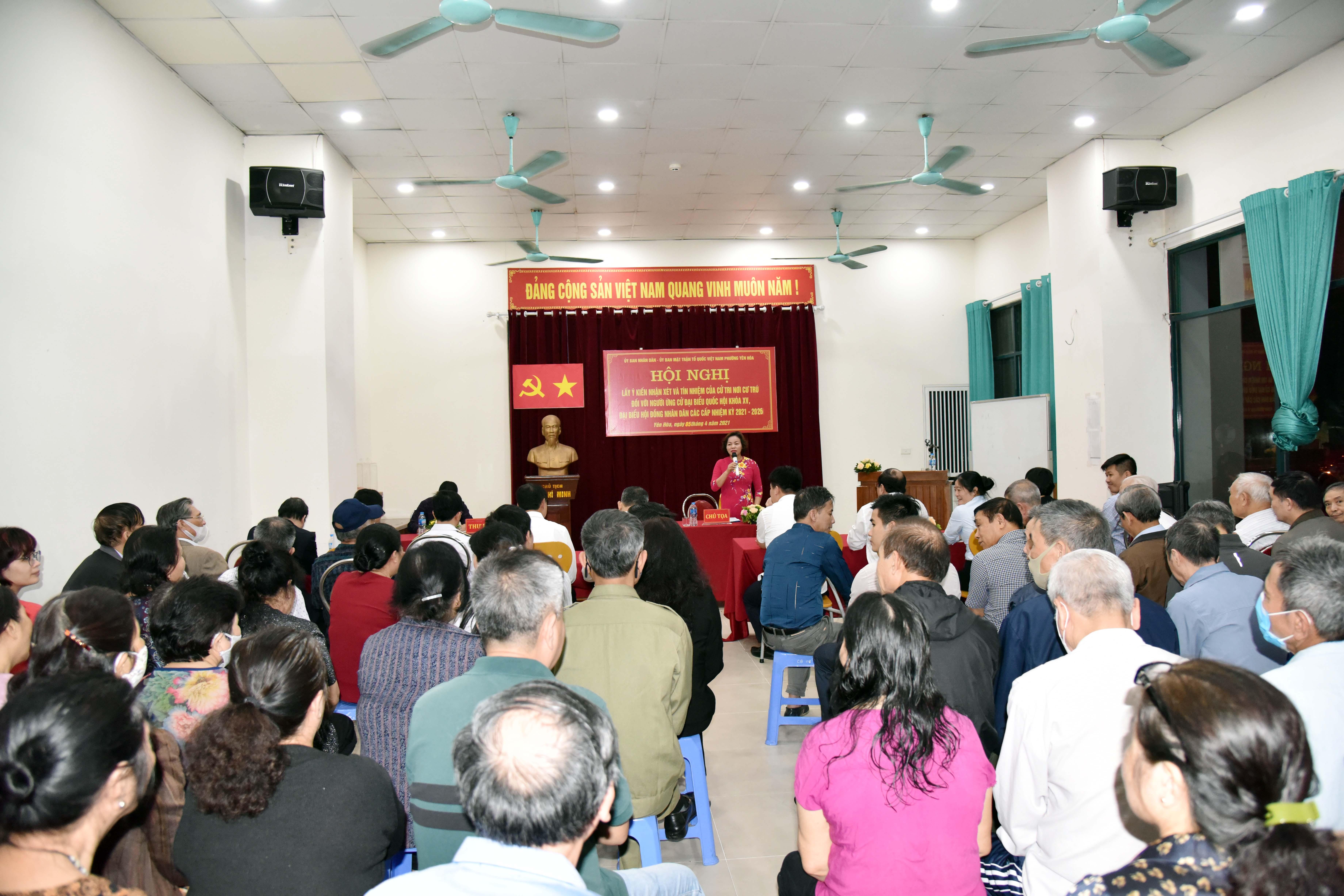 Cử tri nơi cư trú tín nhiệm giới thiệu ông Lê Minh Nam ứng cử đại biểu Quốc hội Khóa XV