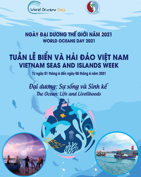 Tổ chức các hoạt động hưởng ứng Tuần lễ Biển và Hải đảo Việt Nam, ngày Đại dương thế giới năm 2021