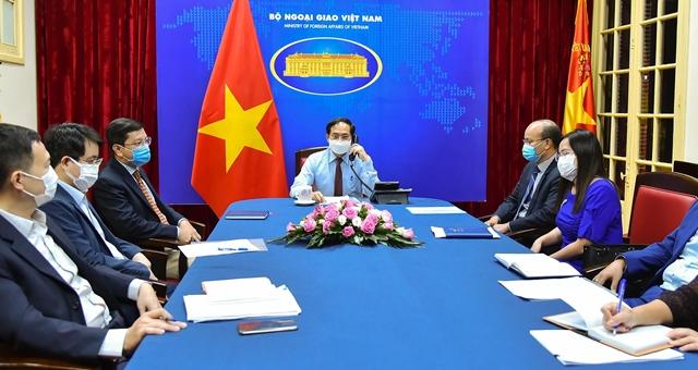 Canada cam kết hỗ trợ Việt Nam và các nước khu vực tiếp cận vắc-xin ngừa Covid-19