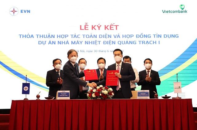 Cấp tín dụng 27.100 tỷ đồng cho EVN thực hiện Dự án Nhà máy nhiệt điện Quảng Trạch I