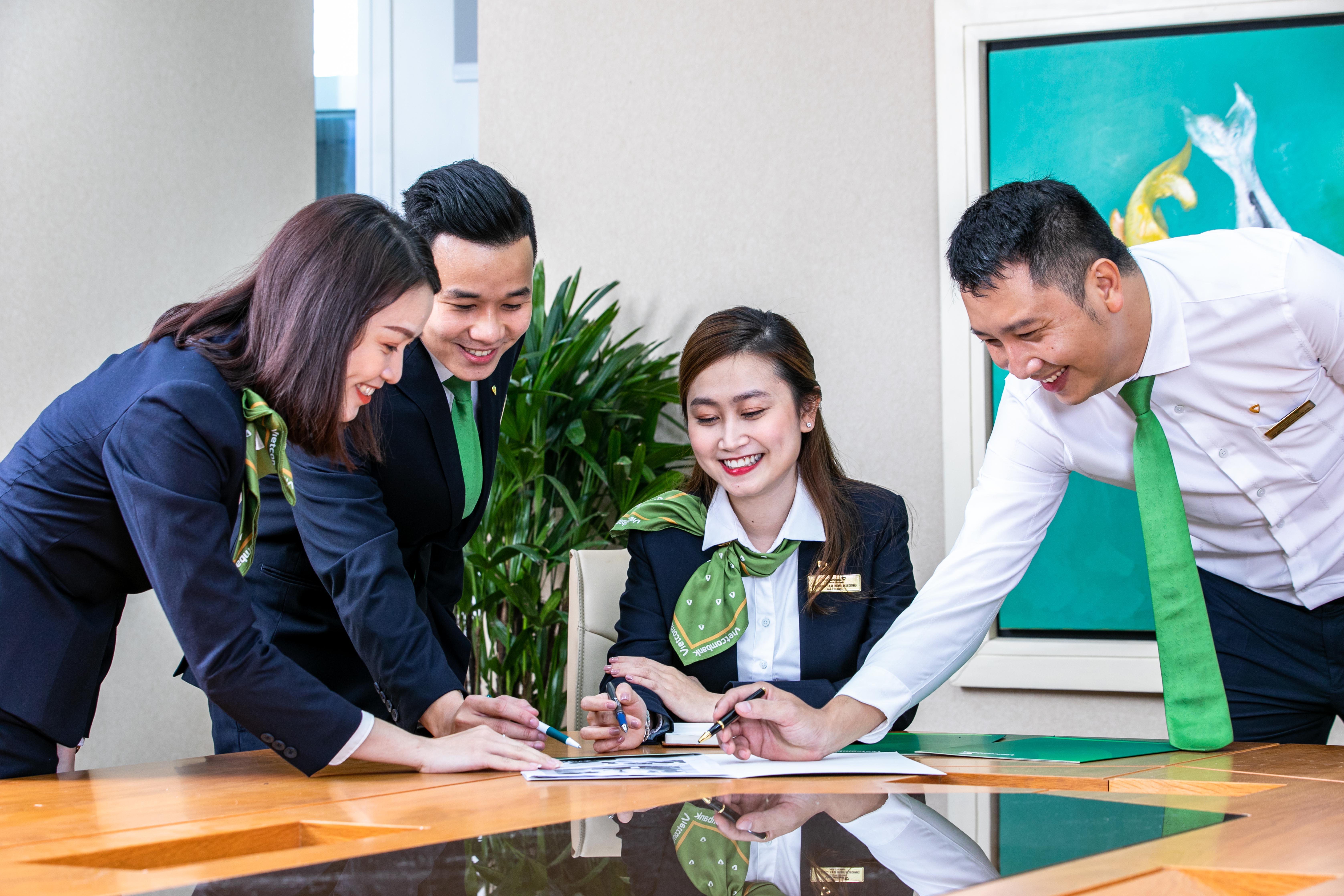 Vietcombank: Tín dụng 6 tháng đầu năm tăng 9,8% so với cuối năm 2020