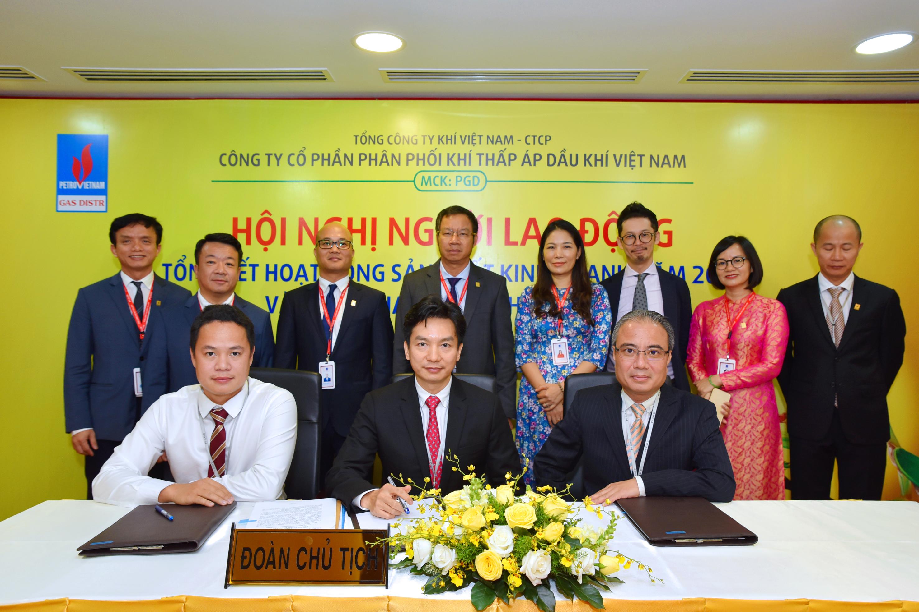 Công ty CP Phân phối Khí thấp áp Dầu khí Việt Nam: Cổ đông lớn mua thêm cổ phiếu