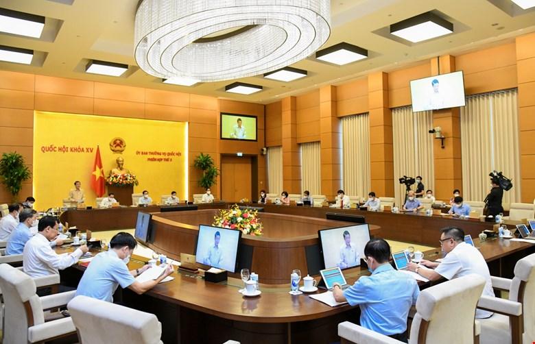 Ủy ban Thường vụ Quốc hội cho ý kiến về kết quả công tác năm 2021 và Kế hoạch kiểm toán năm 2022 của Kiểm toán Nhà nước