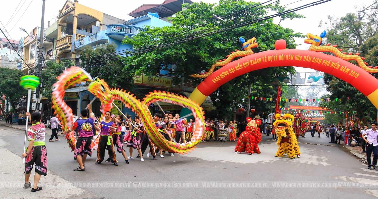 Quảng bá văn hóa, du lịch Hưng Yên tại phố đi bộ Hồ Gươm