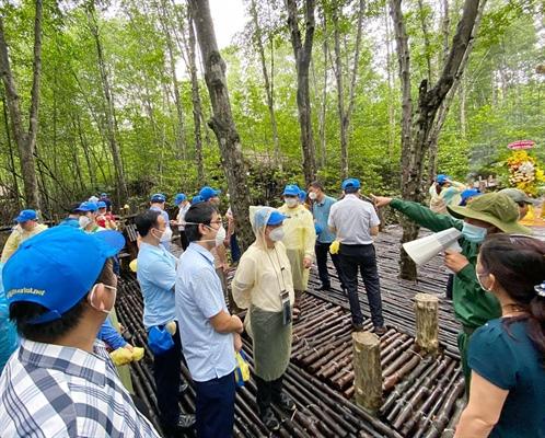 Tour du lịch xanh tri ân lực lượng tuyến đầu chống dịch tại TP. Hồ Chí Minh