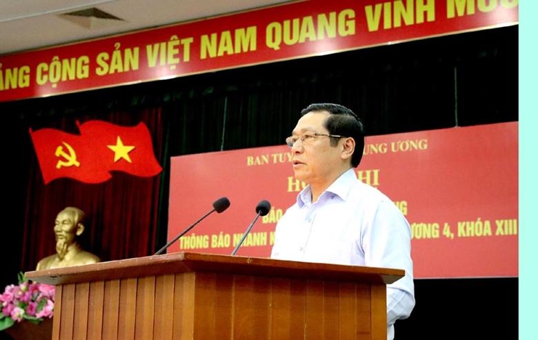 Thông báo nhanh kết quả Hội nghị lần thứ tư, Ban Chấp hành Trung ương Đảng khóa XIII