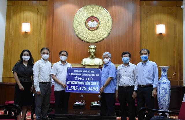 Cộng đồng Việt kiều ủng hộ hơn 3 tỷ đồng cho công tác phòng, chống dịch Covid-19