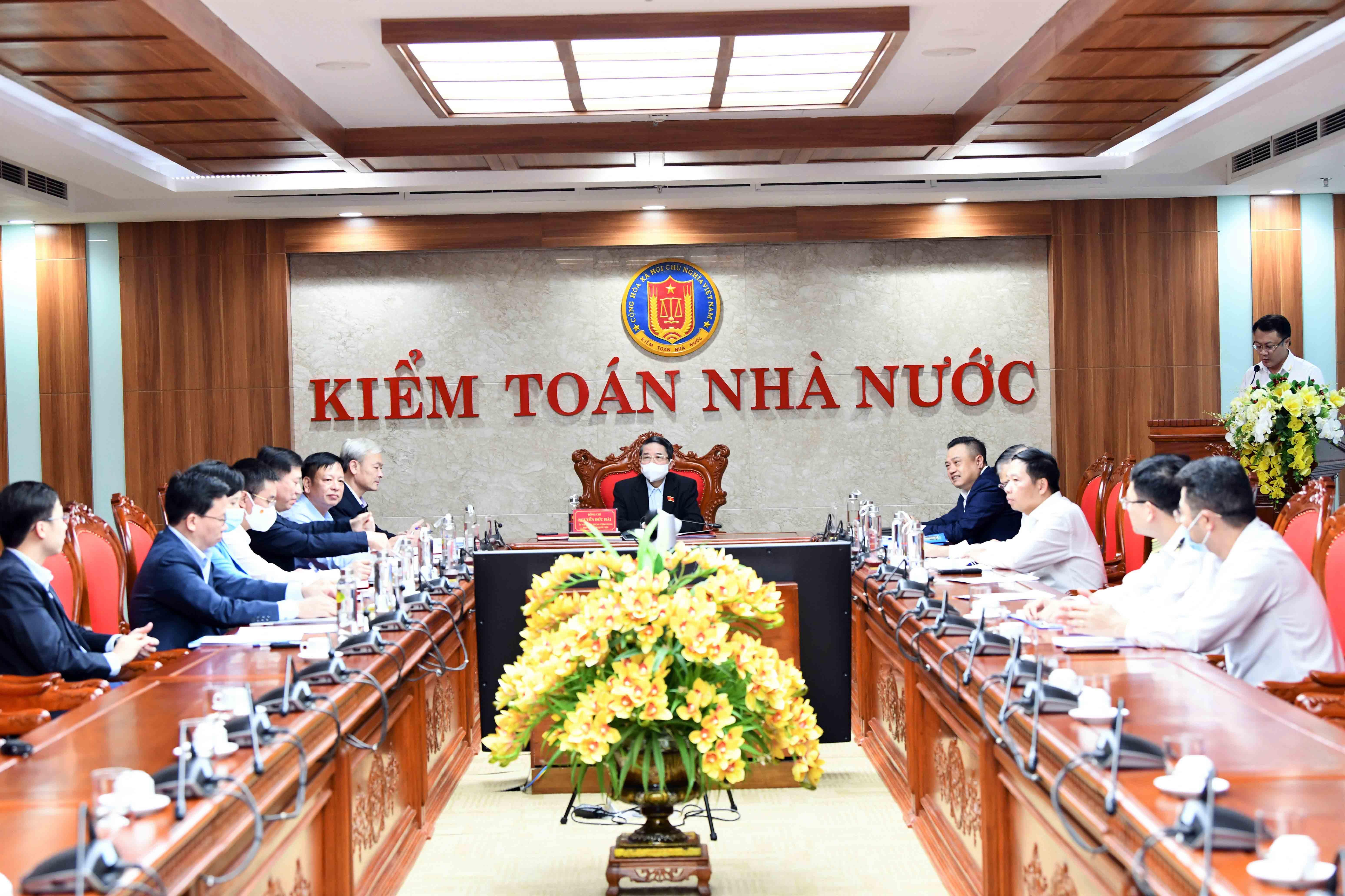 Bám sát định hướng nhiệm vụ của Quốc hội, thể hiện rõ nội dung xây dựng Kiểm toán Nhà nước là cơ quan kiểm toán tối cao trong Chuyên đề