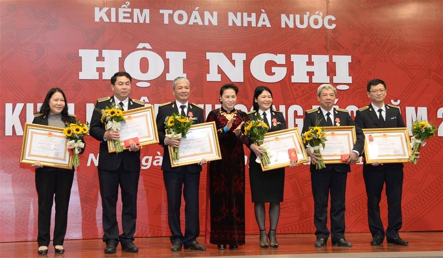 Chủ tịch Quốc hội Nguyễn Thị Kim Ngân: 5 nội dung trọng tâm trong nhiệm vụ năm 2018 của Kiểm toán Nhà nước