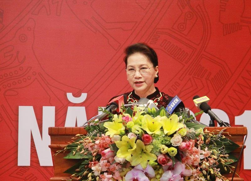 Chủ tịch Quốc hội: Kiểm toán góp phần tích cực trong phòng chống tham nhũng, lãng phí