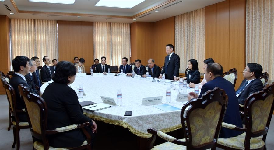 Tổng Kiểm toán Nhà nước Hồ Đức Phớc thăm và làm việc với Ủy ban Kiểm toán Nhà nước Nhật Bản