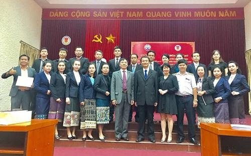 KTNN bế giảng khóa đào tạo cho công chức KTNN Lào