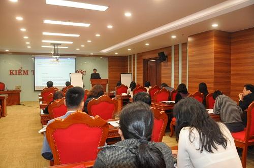 Chuyên gia ASOSAI đào tạo cho Nhóm công chức nòng cốt của KTNN