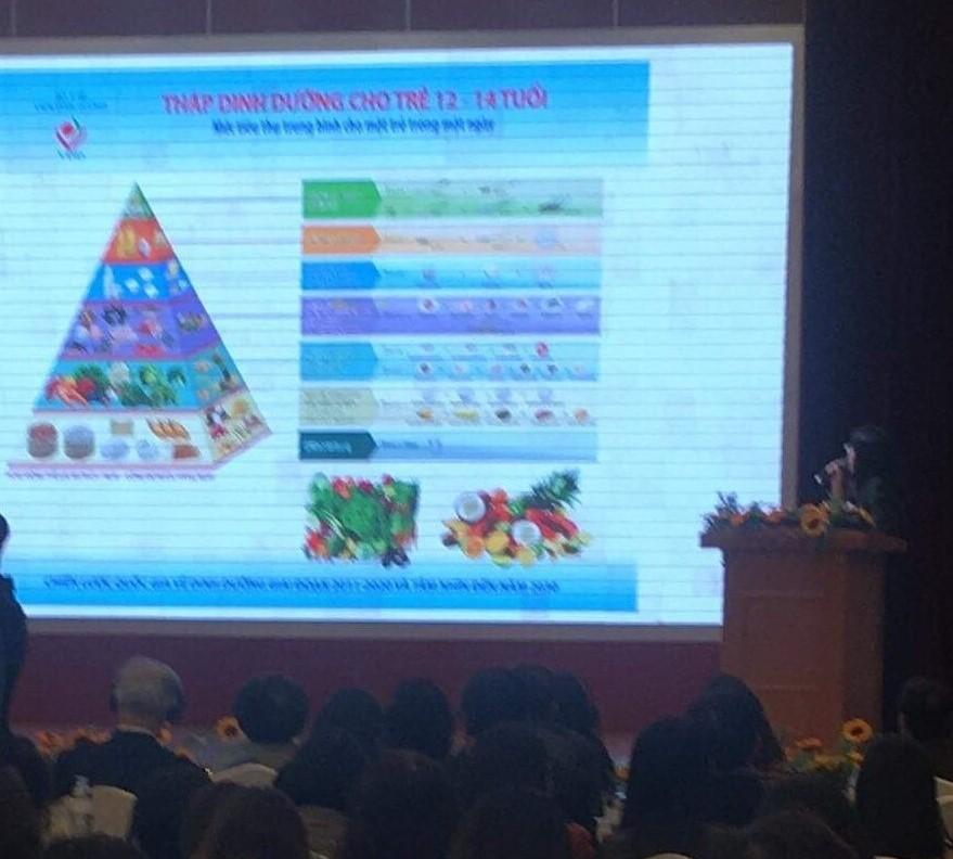 Triển khai Đề án Dinh dưỡng người Việt
