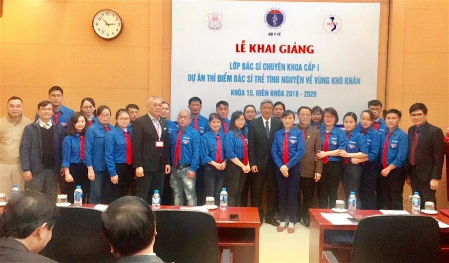 Thêm 22 bác sĩ trẻ tình nguyện về vùng khó khăn