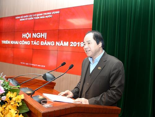 Đảng bộ KTNN: Lãnh đạo thực hiện hoàn thành toàn diện nhiệm vụ năm 2018
