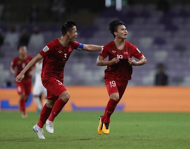 Tuyển Việt Nam chính thức giành vé vào vòng 1/8 Asian Cup 2019