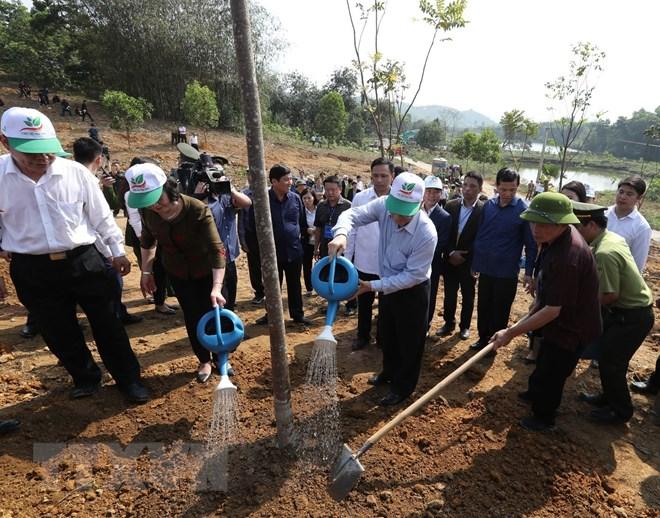 Tổng Bí thư, Chủ tịch nước phát động Tết trồng cây Xuân Kỷ Hợi 2019