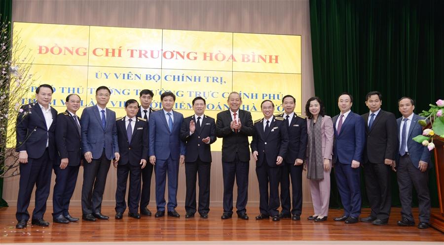 Một số hình ảnh chuyến thăm và làm việc của Phó Thủ tướng Thường trực Trương Hòa Bình tại KTNN