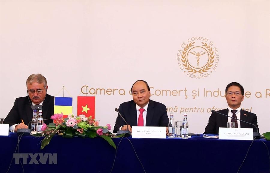 Thủ tướng: Phải có tăng trưởng đột biến trong quan hệ Việt Nam-Romania
