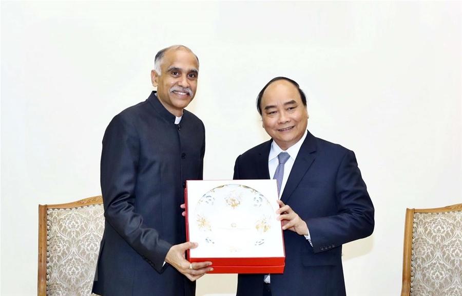 Thủ tướng đề nghị thúc đẩy hợp tác thương mại Việt Nam-Ấn Độ