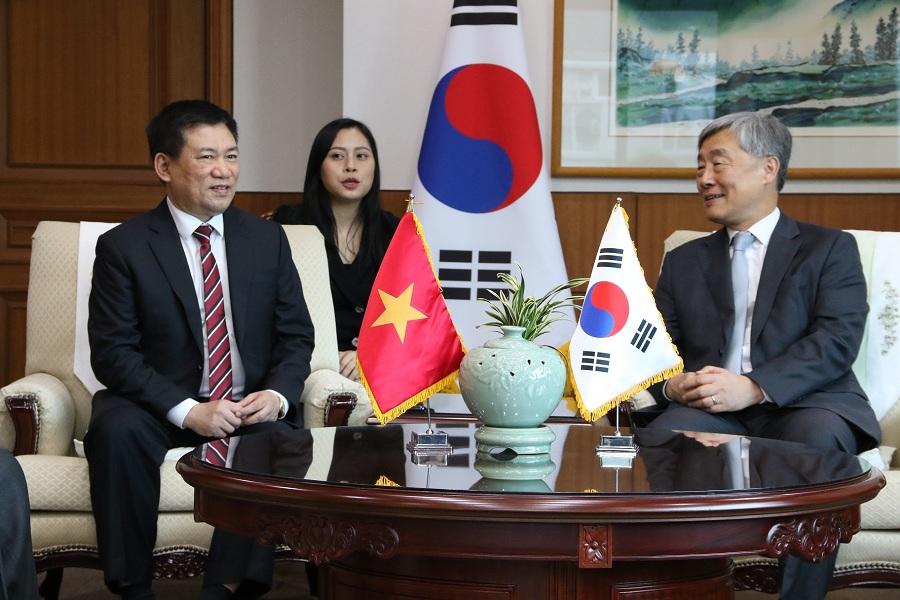 Tổng Kiểm toán Nhà nước Hồ Đức Phớc kết thúc tốt đẹp chuyến thăm và làm việc tại Hàn Quốc