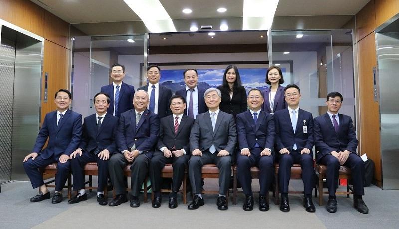 Mối quan hệ hợp tác thân thiết và hiệu quả giữa Kiểm toán Nhà nước và Ủy ban Kiểm toán và Thanh tra Hàn Quốc