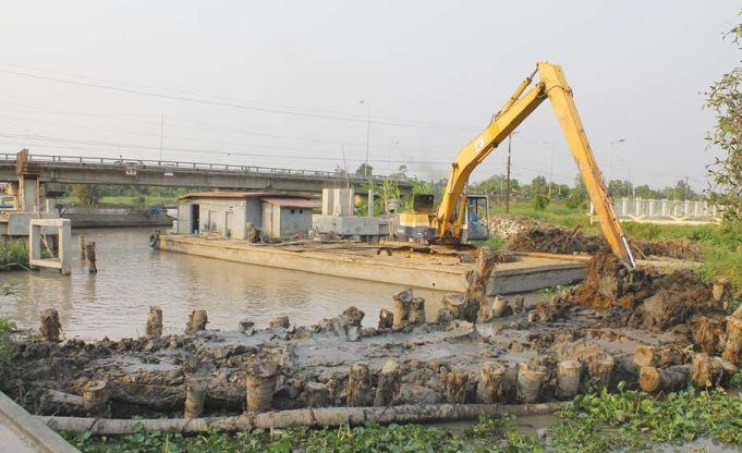 Đồng bằng sông Cửu Long trước thách thức  sụt lún, xâm nhập mặn