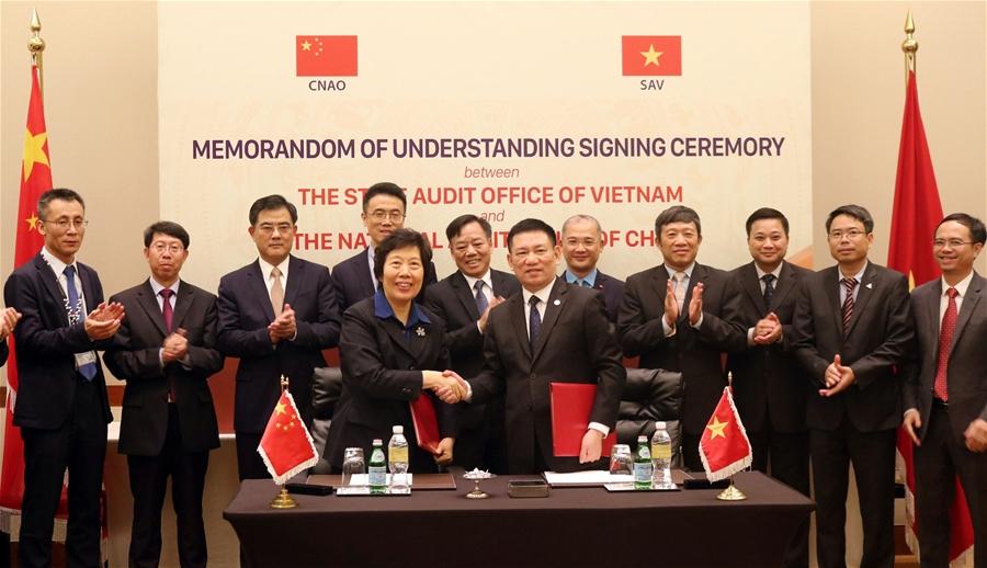 Kiểm toán Nhà nước Việt Nam ký Bản ghi nhớ hợp tác với Kiểm toán Nhà nước Trung Quốc