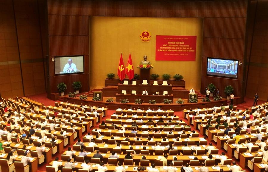 Hội nghị toàn quốc sơ kết 3 năm thực hiện Chỉ thị 05