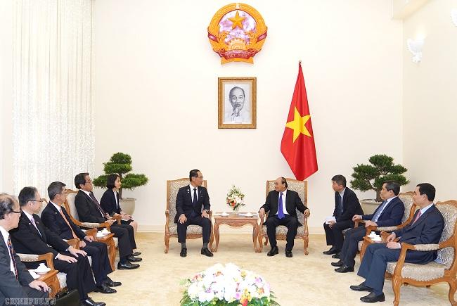 Thủ tướng mong muốn Nhật Bản vươn lên dẫn đầu về đầu tư, thương mại với Việt Nam