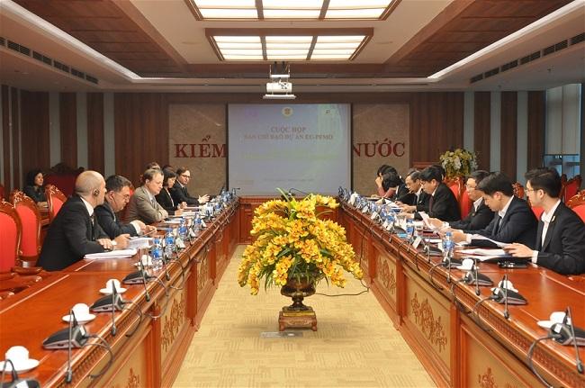 Dự án EU- PFMO giúp tăng cường năng lực KTNN Việt Nam