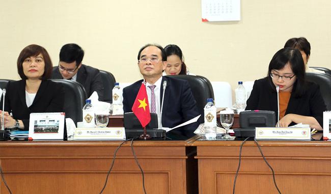 Phó Tổng Kiểm toán nhà nước Nguyễn Quang Thành thăm và làm việc tại  Indonesia