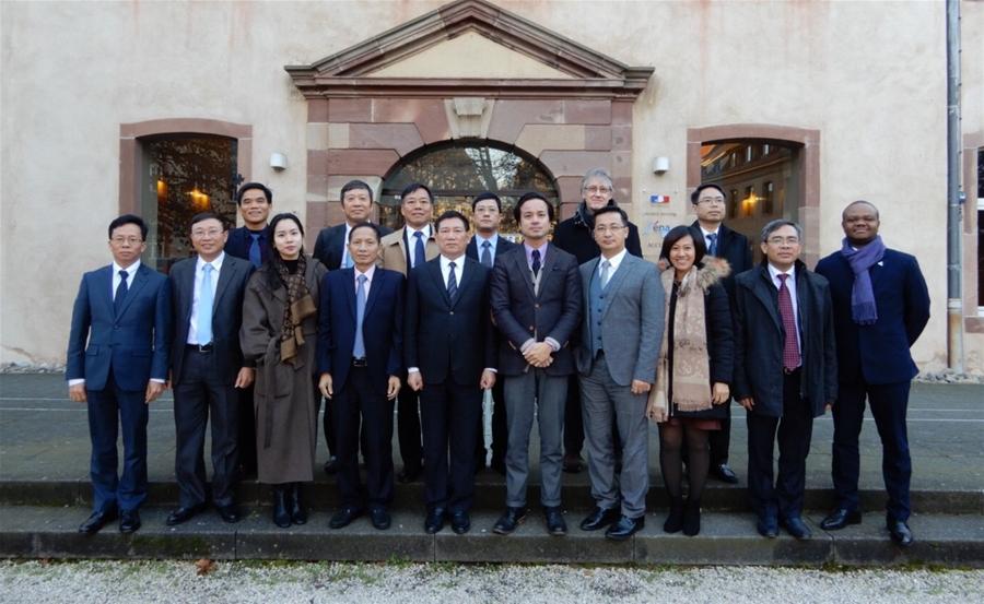 Tổng Kiểm toán Nhà nước thăm và làm việc với Học viện Hành chính Quốc gia Pháp