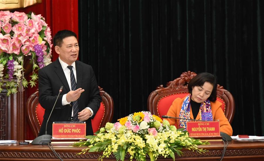 Đoàn kiểm tra của Ban chỉ đạo Trung ương về phòng chống tham nhũng làm việc tại Ninh Bình