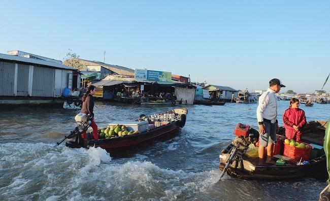 Chợ nổi Cái Răng: Nét đẹp sông nước miền Tây