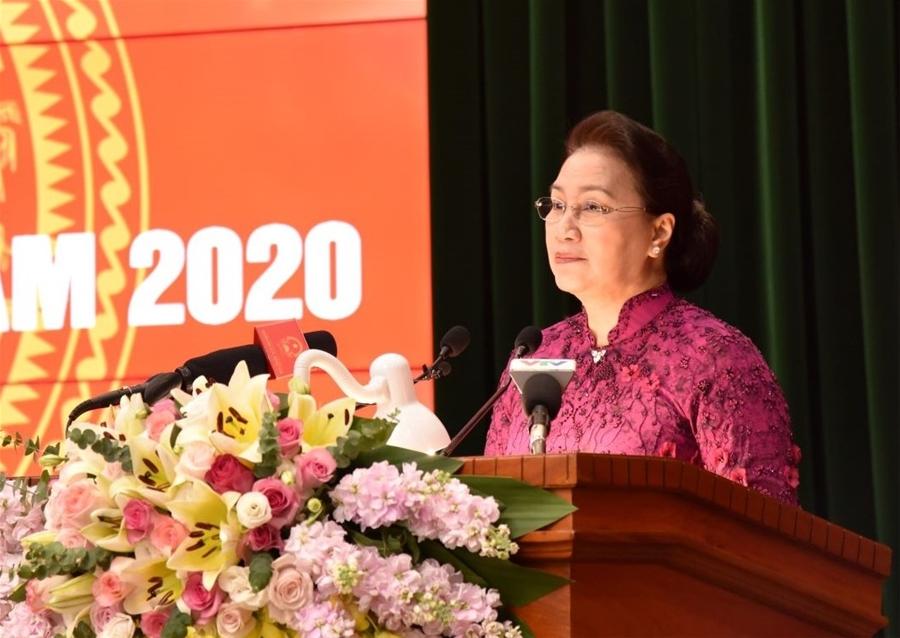 Chủ tịch Quốc hội Nguyễn Thị Kim Ngân gửi Thư chúc mừng năm mới 2020